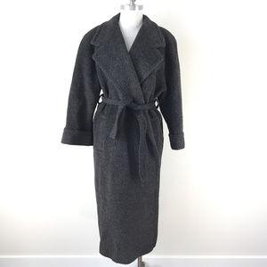 VTG Harve Benard M 8 10 Alpaca Wool coat Melton
